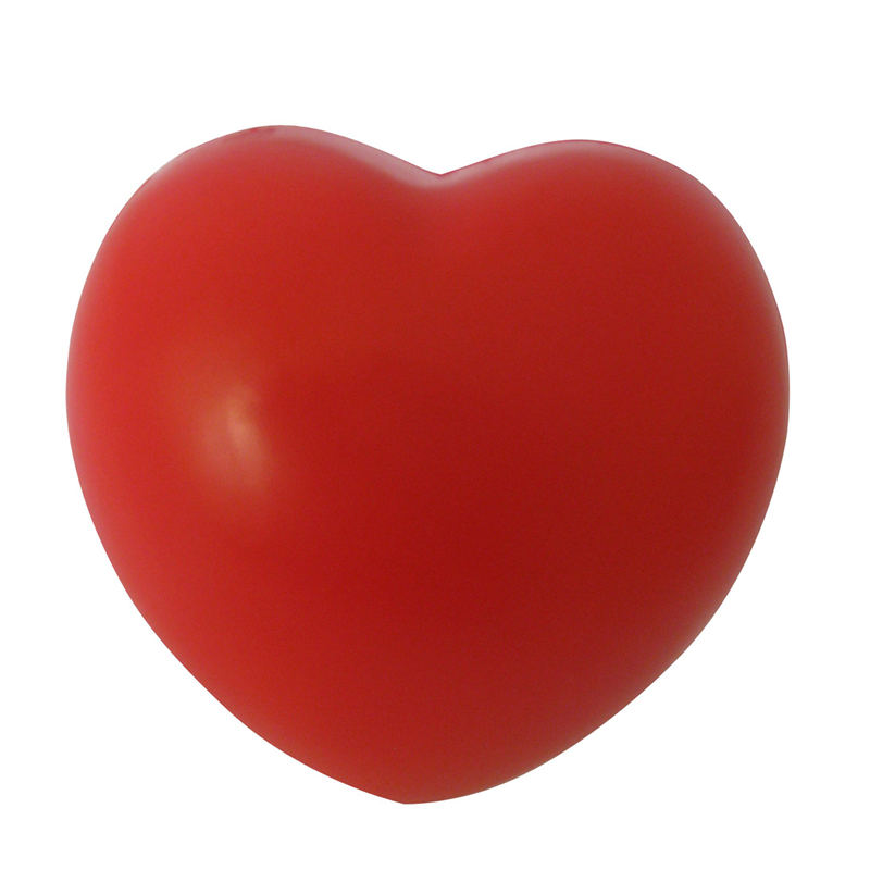 HOT SALE Heart Stress Reliever Inflatable Ball Red