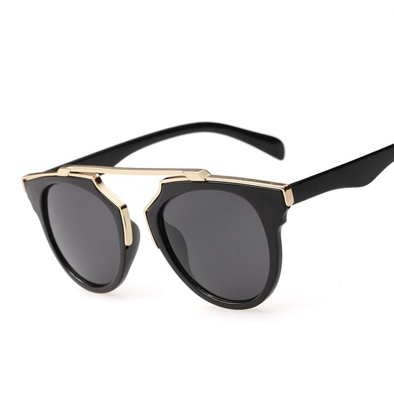 fe8fe15b2 2015 Ha Leina so real cat eye coating sunglasses women brand designer  vintage sun glasses new fashion glasses oculos de sol