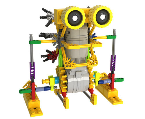 LOZ Lowest Price Creative DIY kangaroo Assemblage Electric Mobile Motor Robots Building Blocks Sets Bricks Kids Toys Legoings hc sfs153 servo motor new in stock lowest price