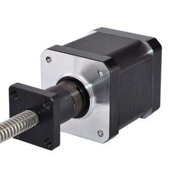 330mm Length Nema 17 External Linear Stepper Motor 0.4A 6-wire with Tr8x2 Lead Screw for 3D Printer