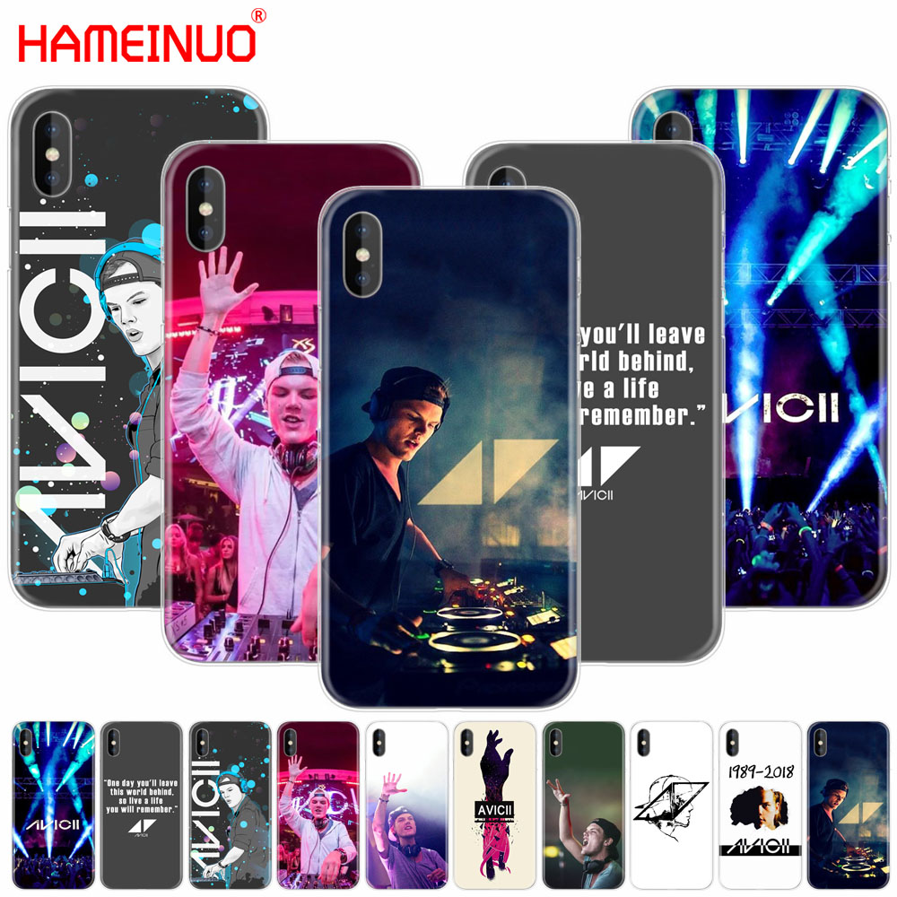 HAMEINUO Avicii DJ Tim Bergling cell phone Cover case for iphone X 8 7 6 4 4s 5 5s SE 5c 6s plus
