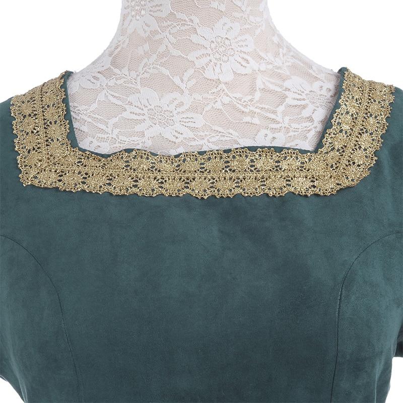 ROLECOS Mujeres Vestidos Retro Europeos Ropa Renacentista Medieval - Disfraces - foto 6