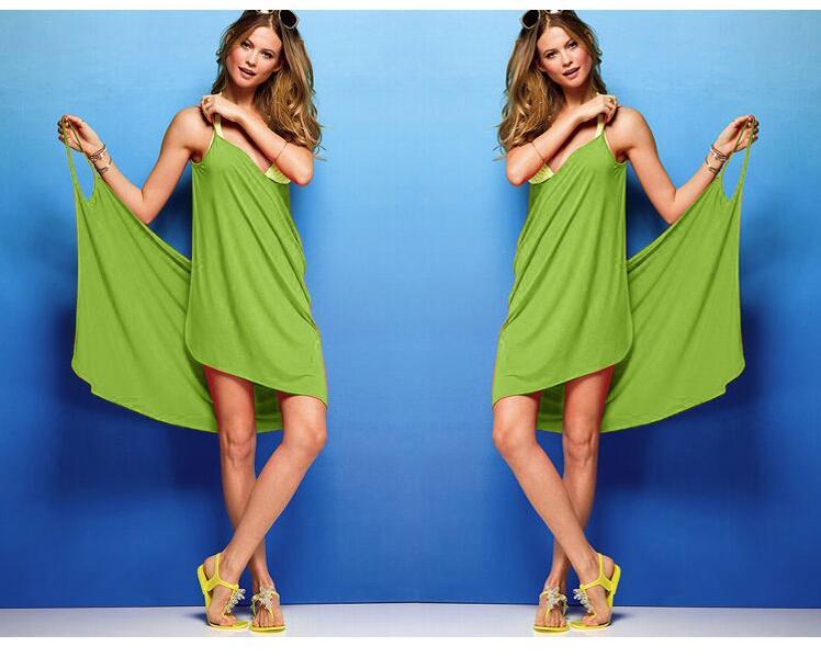 68b4d0170e Golive Wholesale Colorful Beach Towel Dress Gauze kerchief Dress Sunscreen  Swimming Dress Towel Beach Towel-in Bath Towels from Home & Garden on ...