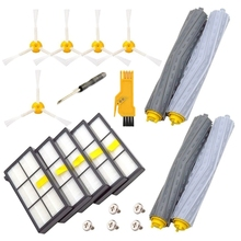 Replacement Parts For Irobot Roomba 860 880 805 860 980 960 Vacuums, With 5 Pcs Hepa Filter, 5 Pcs 3-Armedside Brush, 2 Set Ta 5x side brushes 5x filters replacement for irobot roomba 800 900 860 880 980 960 870 robotic cleaner parts accessories