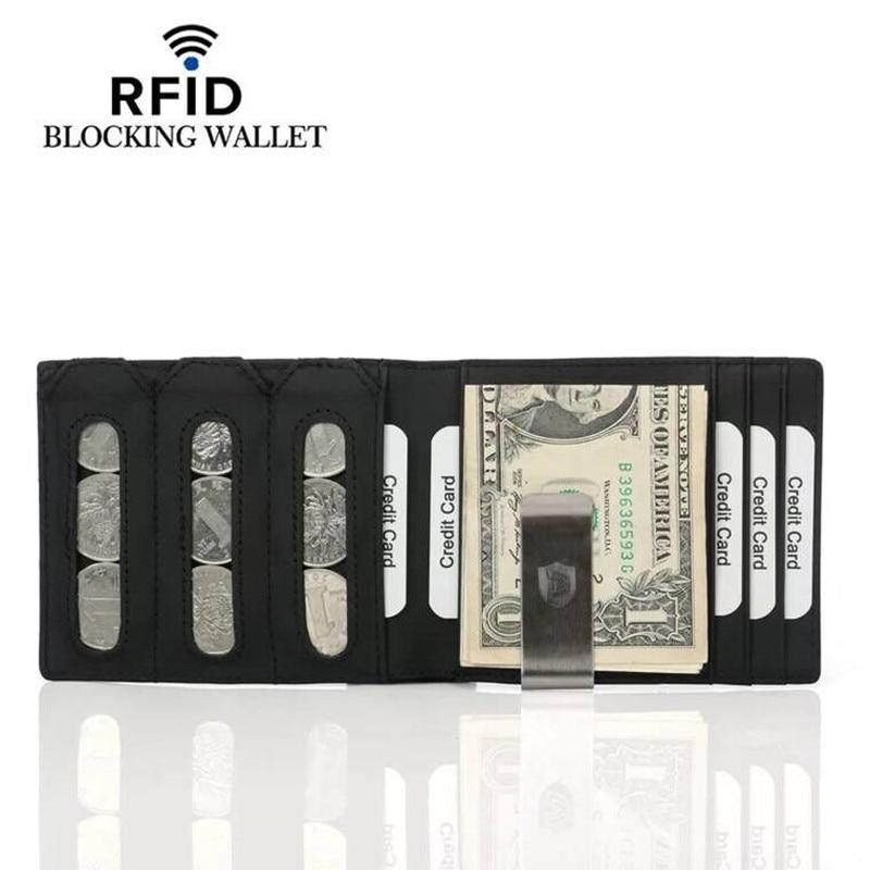 2794cba1d2 Rfid μπλοκ χαρτοφυλακίου κατόχου πιστωτικής κάρτας πορτοφολιών ...