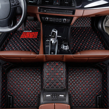custom car floor mats for rx570 rx470 Q7 land cruiser carpets custom mats Carpets in the auto 3d leather car-styling rus liners