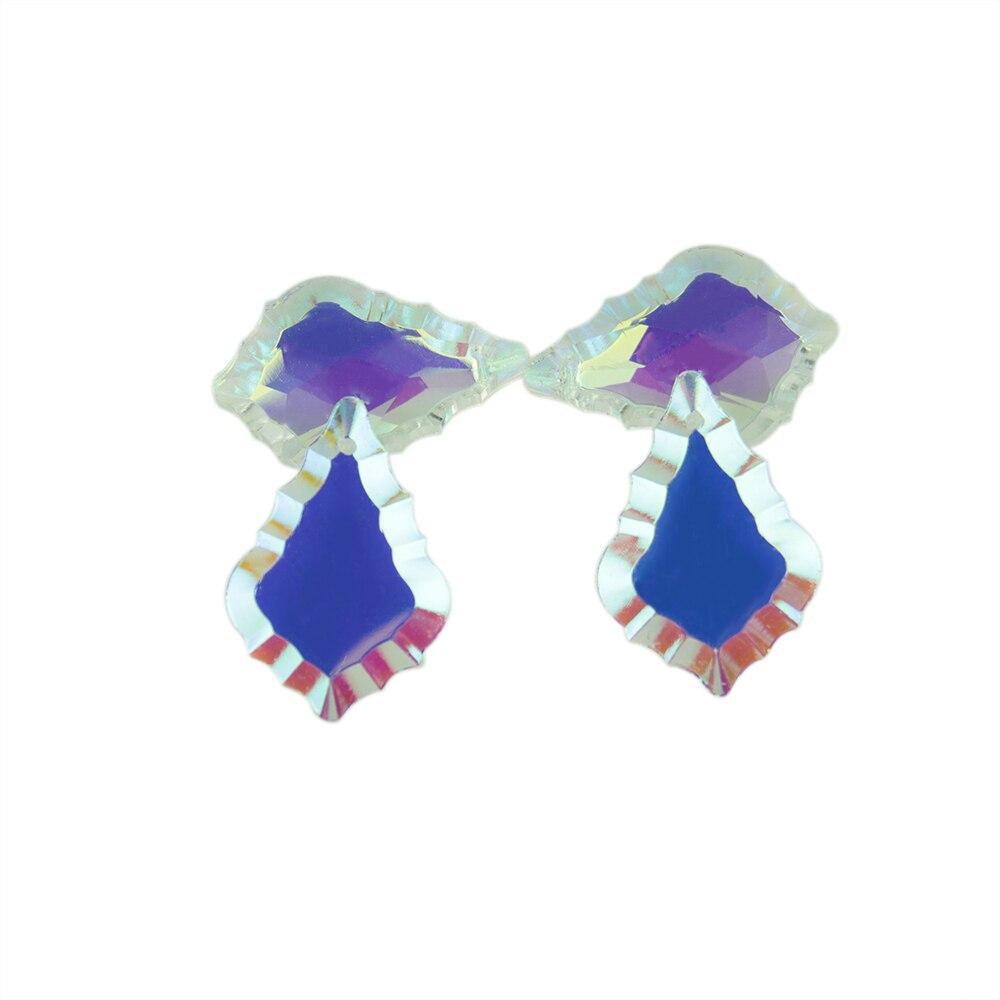 Cn /_ 4pcs Strass Lune Étoile Oreille Boucles D/'Oreilles Pendantes Arceaux Fête