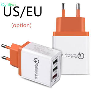 Adapter iPhone Wall-Charger Usb-Port IPAD Huawei Xiaomi Samsung 100pcs Fast 3 for Qc-3.0