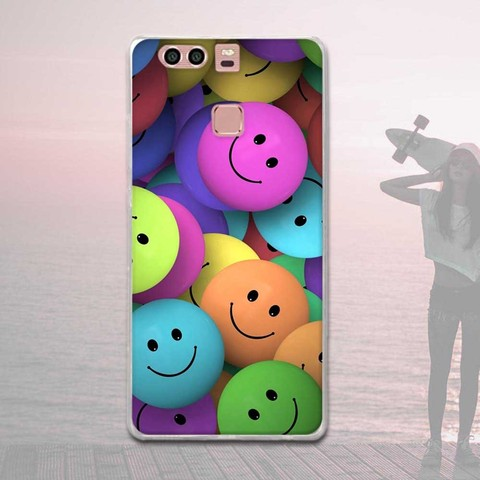 Silicone Case For Huawei P9 Case Back Cover For Huawei P9 EVA-L09 EVA-L19 EVA-L29 5.2 inch Phone Cases Painted Soft TPU Covers Karachi