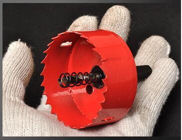 Vente chaude 1 pc 50mm haute qualité M42 bi-métal scie en acier bois de fer en plastique scie ouvre underreamer pipeline perforateur