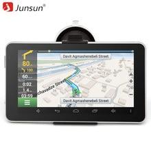 "Junsun 7 ""gps de navegación Android MT8127 Quad-core automobile navigator Bluetooth WIFI europa/navitel Mapa camión gps sat nav"