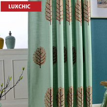 Blackout Curtains for the Bedroom Linen Modern Curtains for the Living Room Window Curtains Blinds the Custom Made embroidered