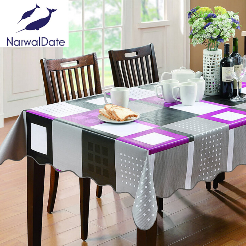High grade Add cotton thickened waterproof oil proof PVC PVC tablecloth 25 degrees temperature deformation