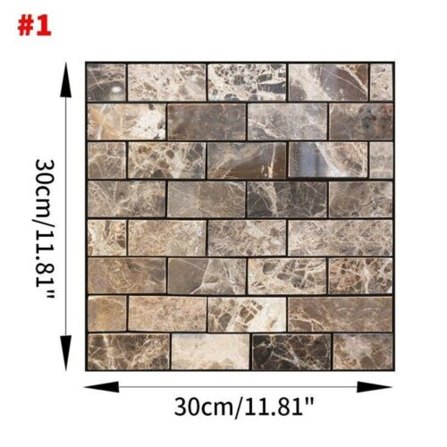 Image 5 - Home Office 3D Brick Waterproof Wall Sticker Self Adhesive Panel Décor Removable-in Wall Stickers from Home & Garden