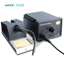 QUICK 936A Anti-static Welding Station/Soldering Iron/Temperature Regulating Welding Station стоимость
