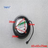 Graphics Card Fan For Msi NTITAN X 12GD5 NTITAN Black 6GD5 GeForce GTX1080 GTX1070 GTX980 GTX970