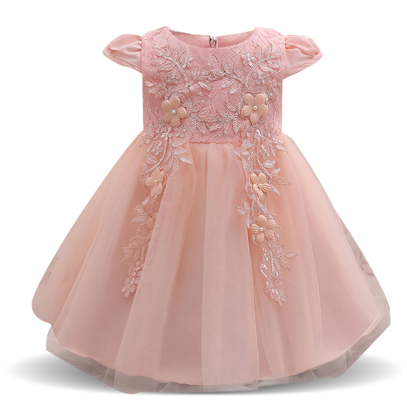 Baby Frock Designs Toddler Girl Party Wear Kids Clothes Infant Tutu 1 Year Birthday  Dress For 521dd7e4127b