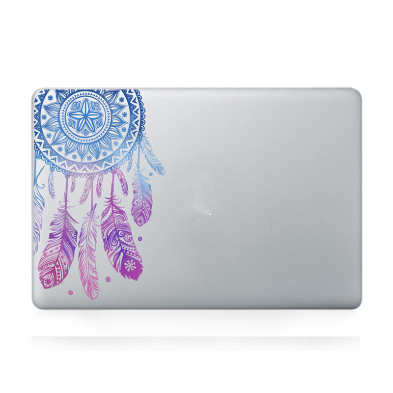 Veer Patroon Bloemen Vinyl Decal Laptop Sticker Voor Macbook Air Pro - Notebook accessoires - Foto 2