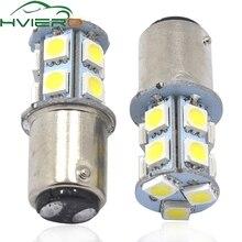 ФОТО high quality 1pcs 1156  ba15s p21/5w 13 smd 5050 car led turn signal lights brake tail lamps 13smd auto rear reverse bulbs dc12v
