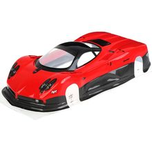 New 1/10 Scale RC Car On-Road 1:10 Drift Body Shell 200mm for HSP 94123 94122 Spare Parts hsp rc car toys drift car 1 10 scale flying fish 4x4 on road electric powered brushed motor battery included item no 94123