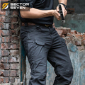 IX7 Waterproof War Game Cargo pants silm Casual Pants men side zipper mens trousers Combat SWAT Army military pants Active Pants