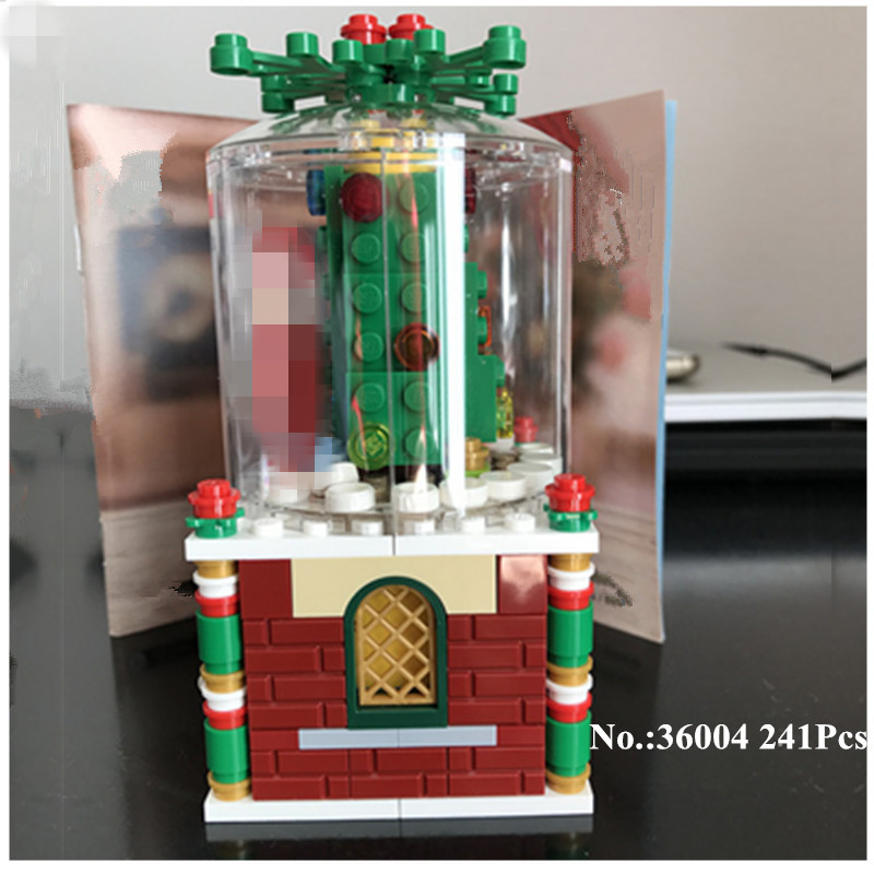 H&HXY 36004 241Pcs Creative Series The Christmas Glass Ball Set Building Blocks Bricks Funny Boy`s Toys Lepin As Christmas Gitfs vicky ward the liar s ball