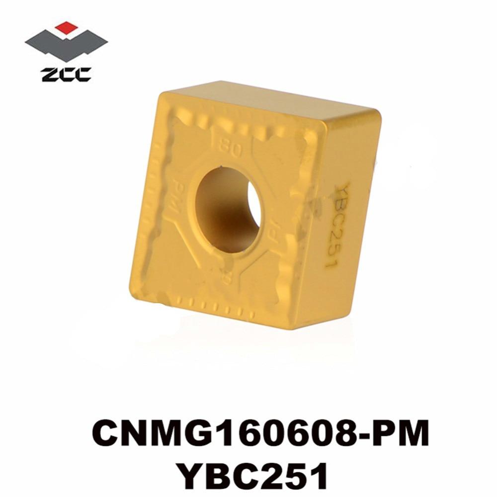 CNMG160608 PM YBC251 Tungsten Carbide Inserts CNC Machine Tool turning tools CNMG 160608 CNMG542 semi finishing