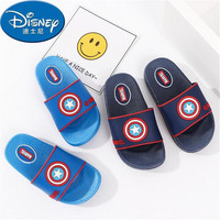 2019 summer baby boy slippers children cartoon American captain flip flops anti slippery sandals home shower shoes