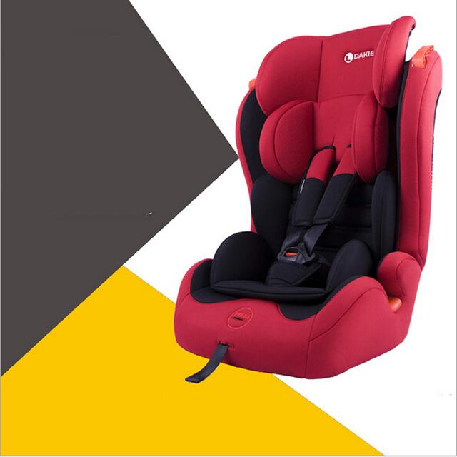 Frete Grátis & Alta Qualidade Assento de Carro Do Bebê Portátil/Criança Segura Car/Seat Crianças Safety Car 6 cores Para Crianças de 5-36 KG