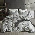 linen Bedclothes Simple Fashion Comforter Bedding Sets Duvet Cover Sets Bedding Set Pillowcase US Queen King Size Beddingoutlet