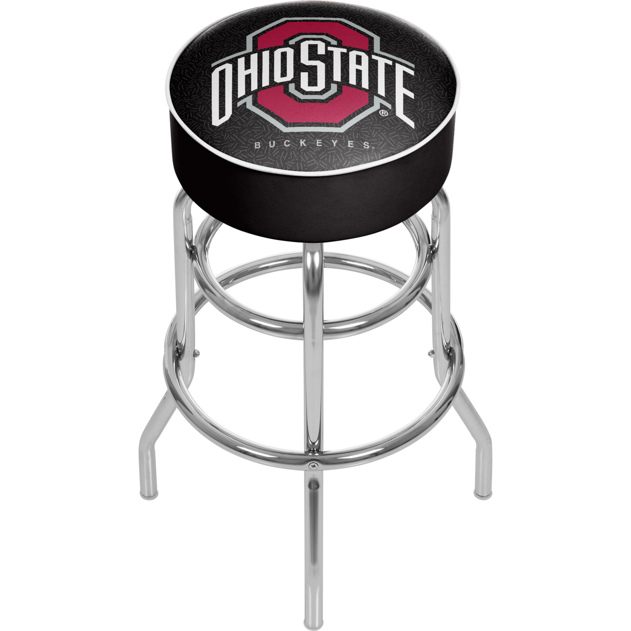 Ohio State University Logo Padded Swivel Bar Stool 30 Inches High - Black adriatica часы adriatica 3176 1111q коллекция twin