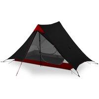 3F UL GEAR LanShan 2 Outdoor Ultralight Camping 2 Person Tent 3 Seasons Professional 15D Silnylon Rodless Tent