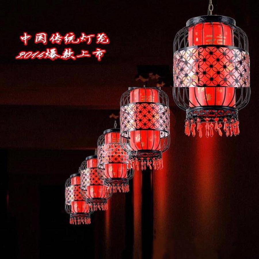 Waterproof Outdoor Balcony Red Lanterns Villa Hotel New