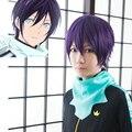 Новое Прибытие Noragami йато Косплей Парик Gintama Takasugi Синсукэ Термостойкие Фиолетовые Волосы Парики