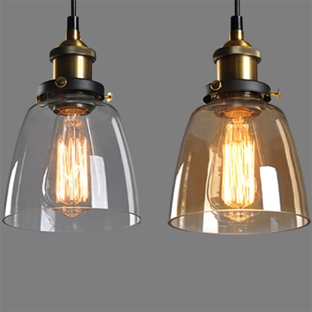 2016 new amber glass shade ceiling chandelier fitting vintage retro 2016 new amber glass shade ceiling chandelier fitting vintage retro pendant lamp light for e27 light aloadofball Image collections