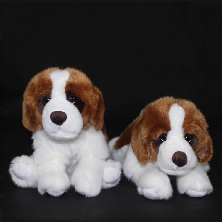 Lovely Kids Toys St. Bernard  Doll Plush Toy Alpine Search And Rescue Dog Lying Dogs  Child  Birthday Gift cute labrador big plush toy lying dog doll search and rescue stuffed toys children birthday gift pillow