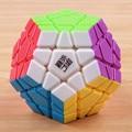 Original 12-sides megaminx shengshou y yj velocidad cubo mágico cubo mágico rompecabezas profesional de aprendizaje y educación de juguetes para niños