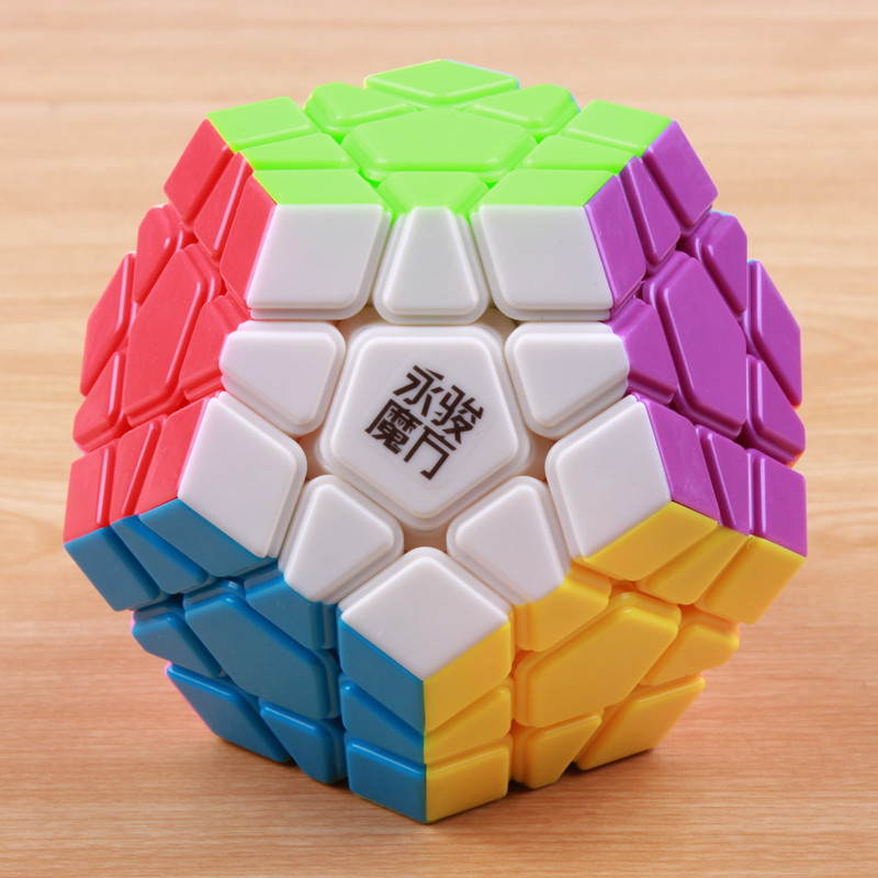Original shengshou & yj megaminx Magic Speed Cube 12-sides Cubo Magico professional Puzzle learning & education toy for children yves rocher восстанавливающий бальзам для ног