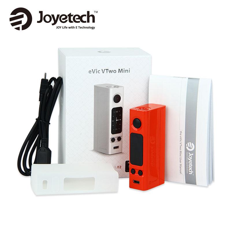 Joyetech Evic 220vtwo Mini 75 W Boîte Mod électronique cig Vaporisateur Evic-220vtwo Mini Mod Ni200/Ti/SS316L Fil NO 18650 Batterie VSeVic VTC Mini