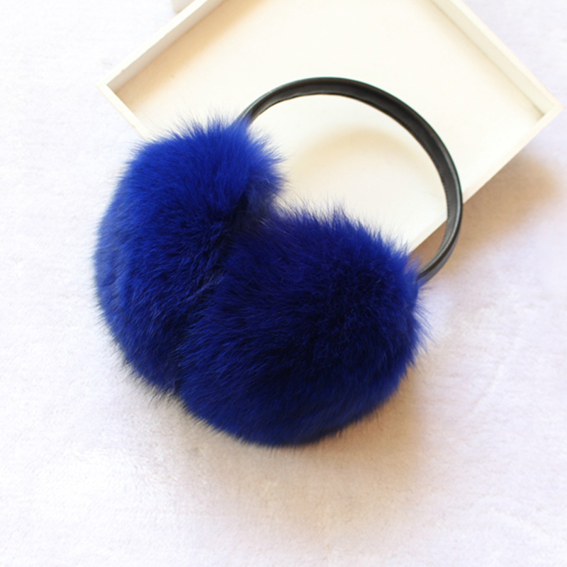 2018 Ear Muffs For Women Winter Earmuffs Real Fox Fur Warm Earmuffs Lovely Earlap Russian Female Genuine Fur Plush Ear Genuine