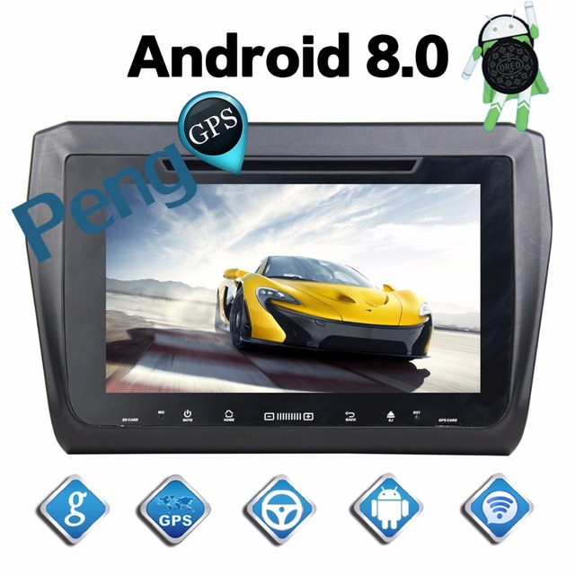 US $419 18 11% OFF|4G+32G Octa Core 2 Din Stereo Android 8 0 Car Radio for  Suzuki Swift 2017 2018 GPS Navigation CD DVD Player Bluetooth headunit-in