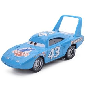 Image 3 - Disney Pixar Cars 3 2 Metal Diecast Car Toy Black Storm Jackson Lightning McQueen Truck Model Children Car Toys Christmas Gift
