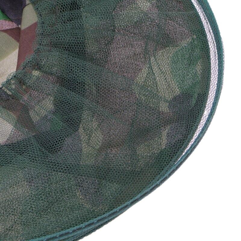 Mesh Gesicht Maske Hut Halten Insekten Bee Fliegen Gesicht-schutz Imker Angeln Drop Verschiffen Unterstützung SpäTester Style-Online-Verkauf Von 2019 50% Sicherheit & Schutz
