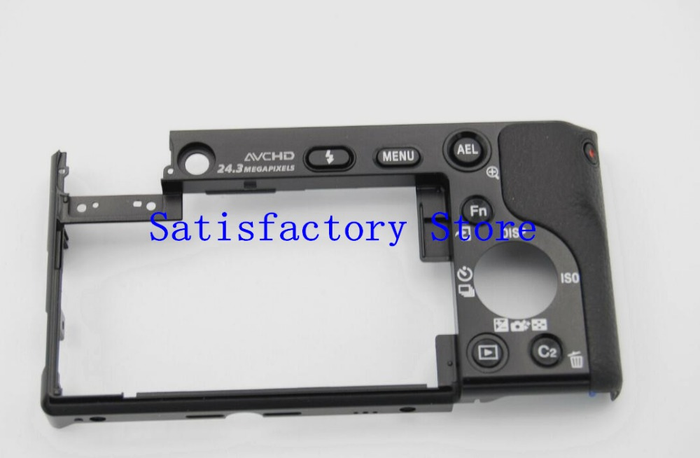 NEW For Sony ILCE-6000 ILCE-6000L A6000 Back Cover Rear Case Shell Ass'y Repair Parts X-2589-185-2