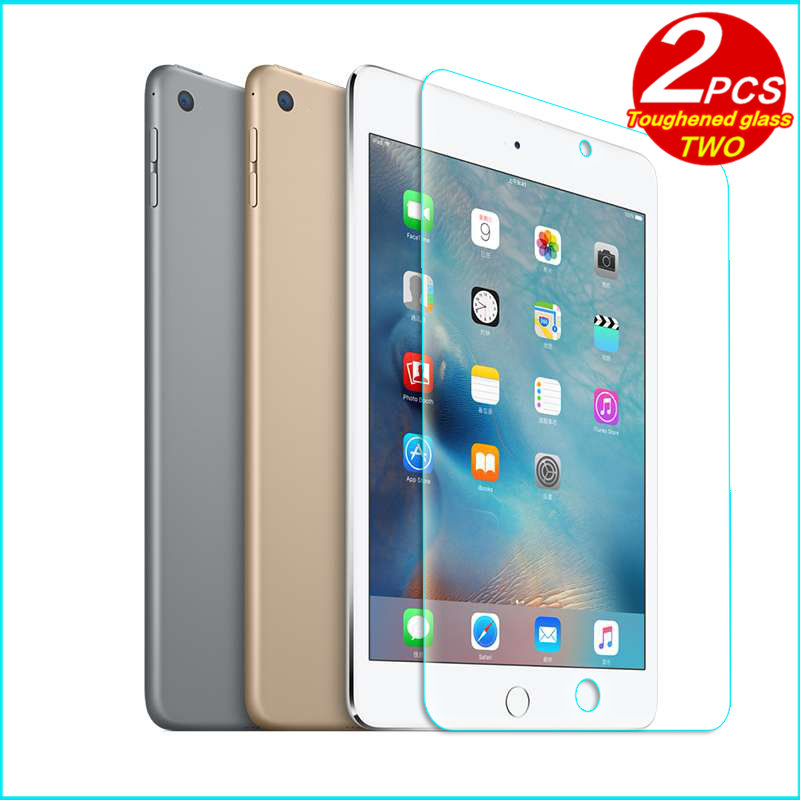 For iPad mini 3 2 1 Glass Tempered membrane For iPad mini2 mini3 Glass Steel film Tablet Screen Protection Toughened Case glass