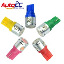 AutoEC 100X T10 W5W led t10 2.5w 4smd 194 168 501 2.5W Car Clearance Lights Tail led bulb #LB28