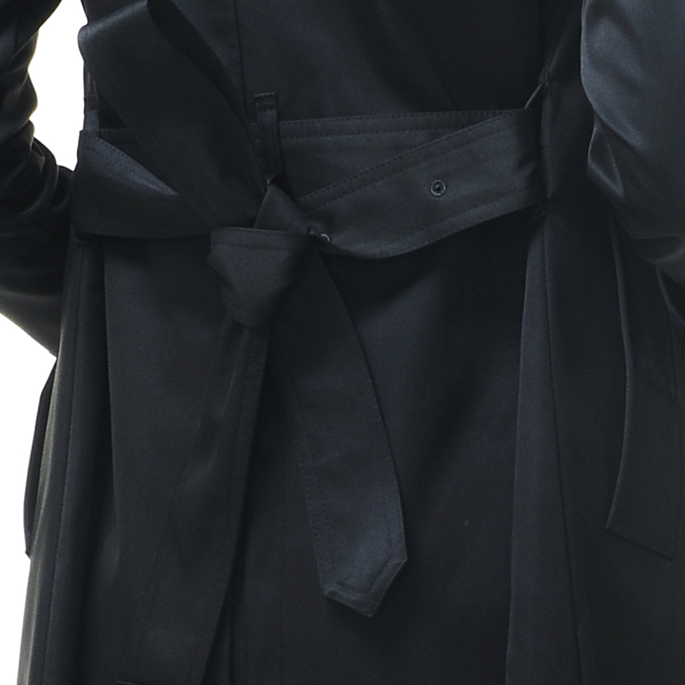 e01e5b54e05 Aliexpress.com   Buy URSMARTHigh end brand new autumn and winter female  long black coat weatherproof women windbreaker jacket from Reliable womens  ...