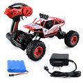 Modelo de Brinquedo eletrônico 2.4G Carro Rastreador Rocha 4 WD Caminhão Monstro 1:18 Veículo Off-Road de Buggy Carro Do RC
