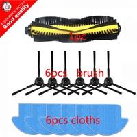 13pcs Set For Ilife V7s Pro Robot Vacuum Cleaner Parts Kit Main Brush 1 Mop Cloths