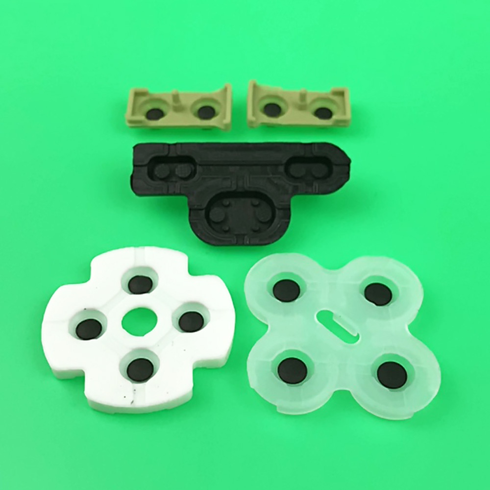 Image 2 - 2 10sets For ps3 Controller conductive rubber for Playstation 3 Soft Rubber Silicon Conductive Button Pad Replacement-in Replacement Parts & Accessories from Consumer Electronics